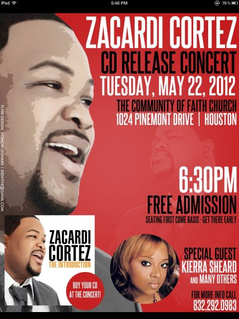 """HIGHLY-ANTICIPATED CD, """"ZACARDI CORTEZ: THE INTRODUCTION"""" HITS RETAIL STORES AND ONLINE PORTALS THIS WEEK"""
