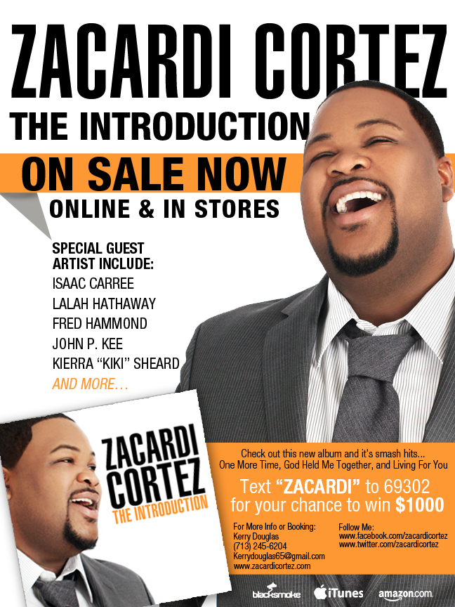Zacardi Cortez New Album Available Now